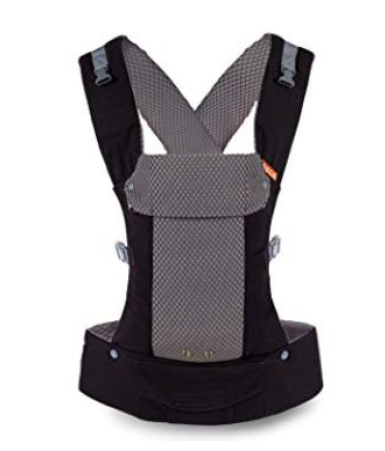 gray and black baby carrier